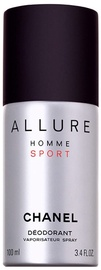 Chanel Allure Sport 100ml Deodorant