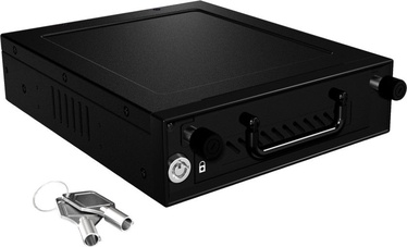 ICY BOX IB-148SSK-B Mobile Rack for 2.5'' and 3.5'' SATA/SAS HDD and SSD