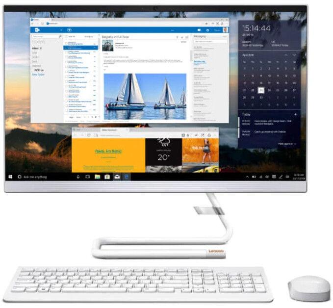 Стационарный компьютер Lenovo IdeaCentre AIO 3-24ARE F0EW00C6PB White PL