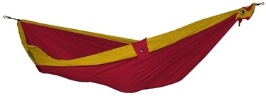 Ticket To The Moon Single Hammock Burgundy Dark Yellow