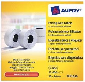 Avery Zweckform Pricing Gun Labels PLP1626