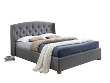 Signal Meble Bed Hampton 160x200cm Gray