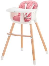 KinderKraft Sienna Highchair 2in1 Pink