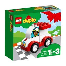 Konstruktorius LEGO Duplo, Mano pirmasis lenktynių automobilis 10860