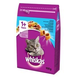 Sausas ėdalas katėms Whiskas Dry 1+, su tunu, 950 gr