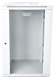 "Digitus Wall Cabinet 19"" 15U/600 mm Grey"