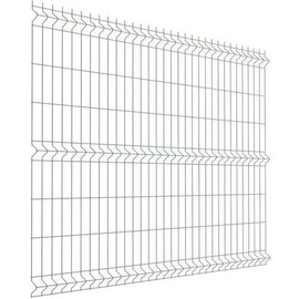 Tvoros segmentas, 2500 x 1930 x 4 mm, sidabro spalvos