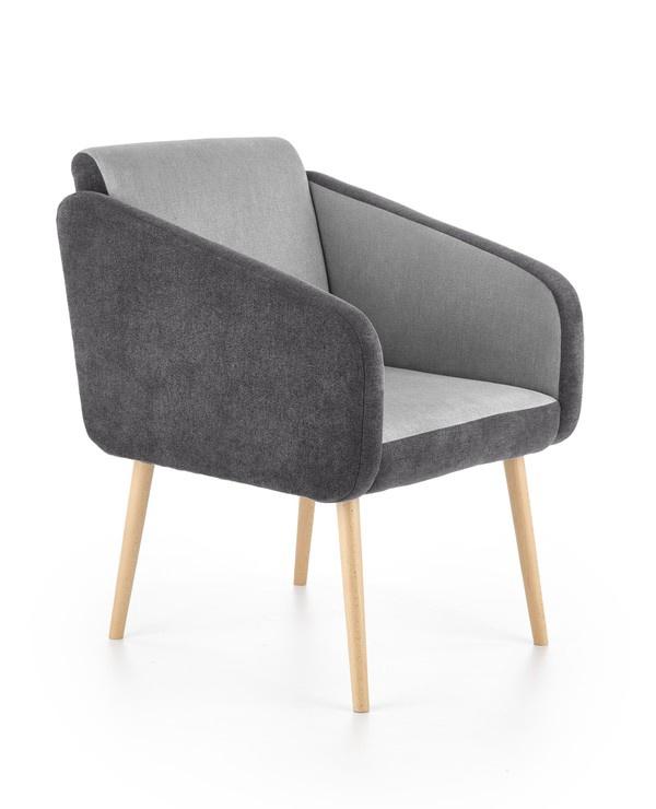 Fotelis Halmar Well Grey, 70x62x88 cm