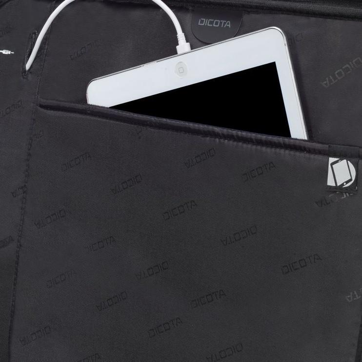 "Dicota Backpack SELECT 15.6""-17.3"" Black"