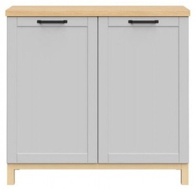 Black Red White Haga Cabinet 101x95cm Grey