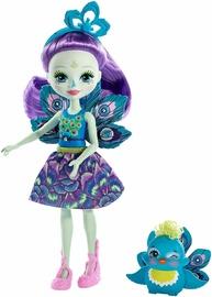 Mattel Enchantimals Patter Peacock Doll FXM74