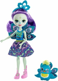 Mattel Enchantimals Patter Peacock Doll FXM74