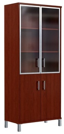 Skyland Born Office Cabinet B 430.4 90х45х205.4cm Burgundy