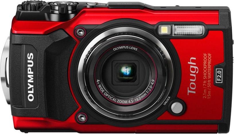 Olympus TG-5 Red