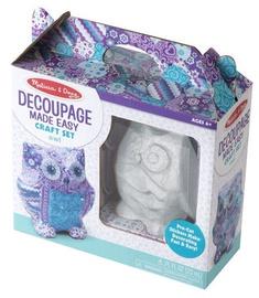 Melissa & Doug Decoupage Made Easy Craft Set Owl