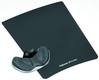 Fellowes Health-V Fabrik Gliding Palm Support Graphite 9180101