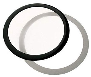 DEMCiflex Dust Filter Round 200mm Black/White
