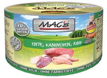 Mac's Cat Duck Rabbit & Beef 200g