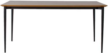 Home4you Rio Table 160x90x75cm Walnut