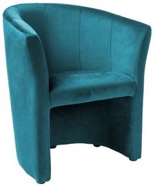 Atzveltnes krēsls Signal Meble TM-1 Velvet Turquoise, 67x47x76 cm