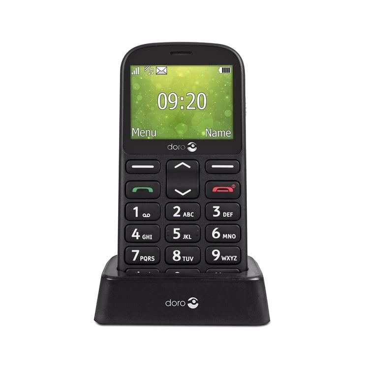 Мобильный телефон Doro 1360, черный, 8MB/4MB