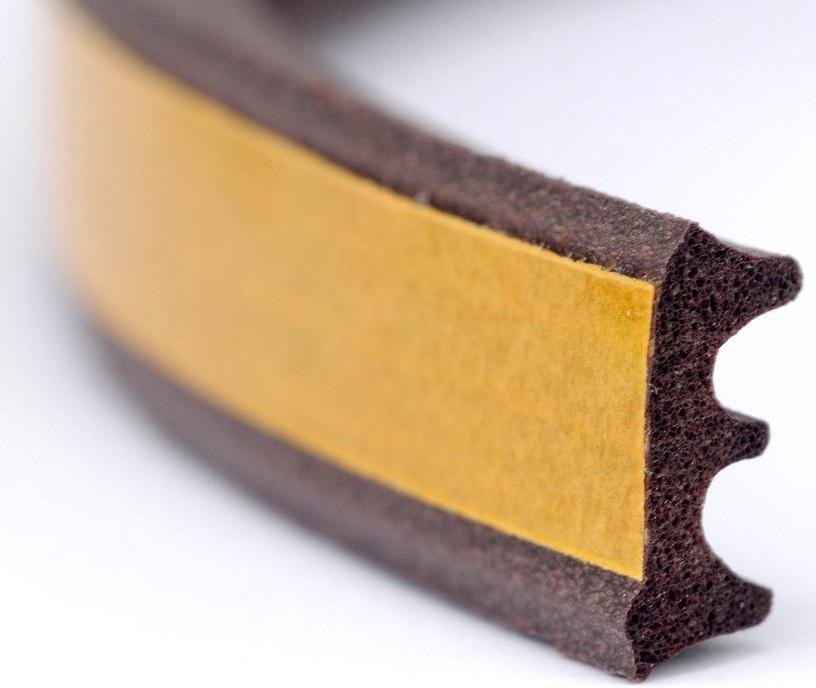 Stomil Sanok Double-Seal E Profile Brown 2x75m