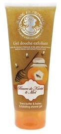 Jeanne en Provence Shea Butter & Honey 250ml Exfoliating Shower Gel