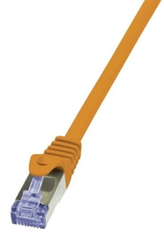 LogiLink Cable CAT6 S/FTP 0.25m Orange