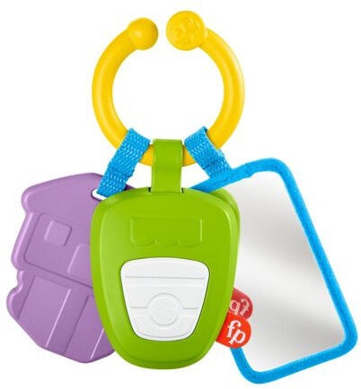 Fisher Price Hit The Road Activity Keys GRT57