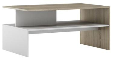 Szynaka Meble Helios Coffee Table Sonoma Oak/White