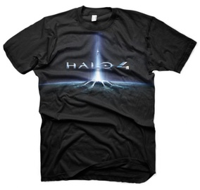 Gaya Entertainment T-Shirt Halo 4 In The Stars Black M
