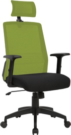 Home4you Office Chair Bravo Black/Green 21144