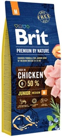 Brit Premium by Nature Junior Medium Dog Chicken 15kg