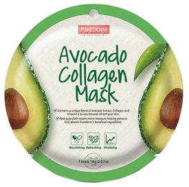 Purederm Avocado Collagen Mask 18g