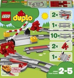 Конструктор LEGO Duplo Train Tracks 10882 10882, 23 шт.