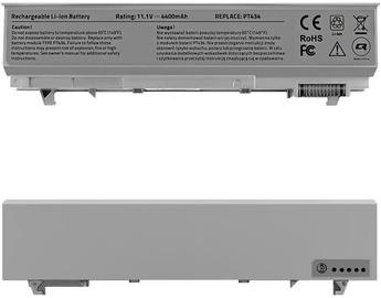 Аккумулятор для ноутбука Qoltec Long Life Notebook Battery For Dell Latitude E6400/E6500 4400mAh
