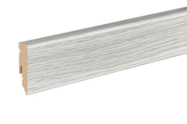 Põrandaliist tamm valge 15x50x2400mm