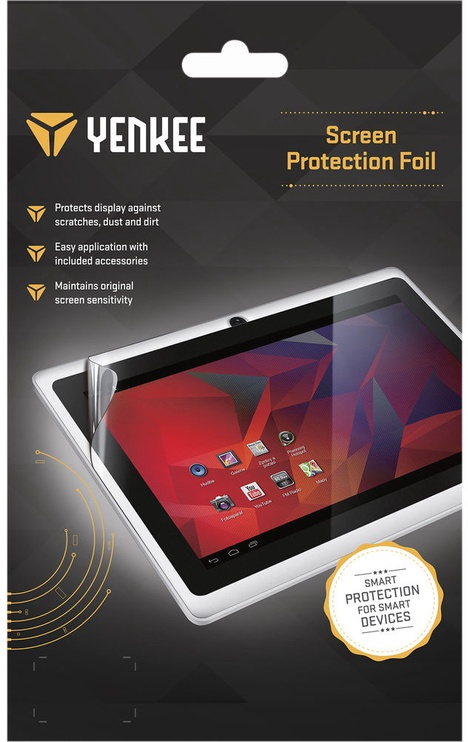 "Yenkee Screen Protection For 8"" Crystal Clear"