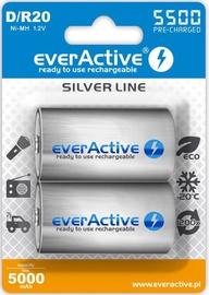 EverActive Professional Line Rechargeable Batteries D/R20 5000mAh