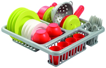 Ecoiffier Draining Rack With Dishes 8/608S