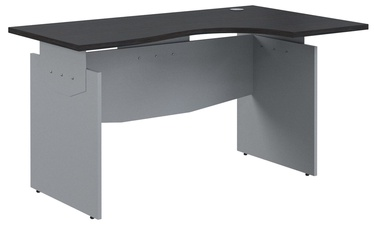 Skyland Offix New Ergonomic Desk OCET 149 Right Legno Dark/Metallic