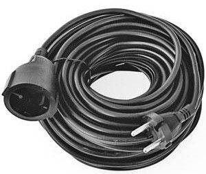 Verners Extension Cord Black 30m