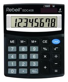Калькулятор 121RESDC408, черный