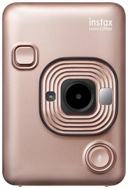 Fotoaparatas instax mini LiPlay Blush Gold