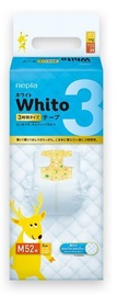Whito Diapers Tape Type M 52