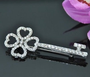 Vincento Brooch With Zirconium Crystal LD-1184