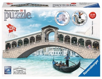 Ravensburger 3D Puzzle Ponte Di Rialto Most 216pcs 125180