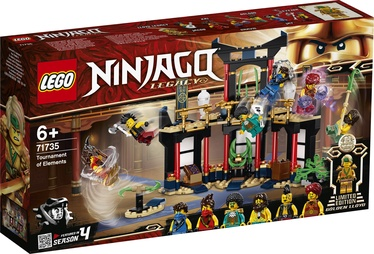 Konstruktorius lego Ninjago Tournament of Elements 71735