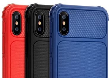 Чехол Devia Shark1 Shockproof iPhone XR, синий