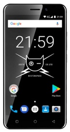 MyScreen Hybrid Premium Screen Protector Glass For Just5 Freedom C105